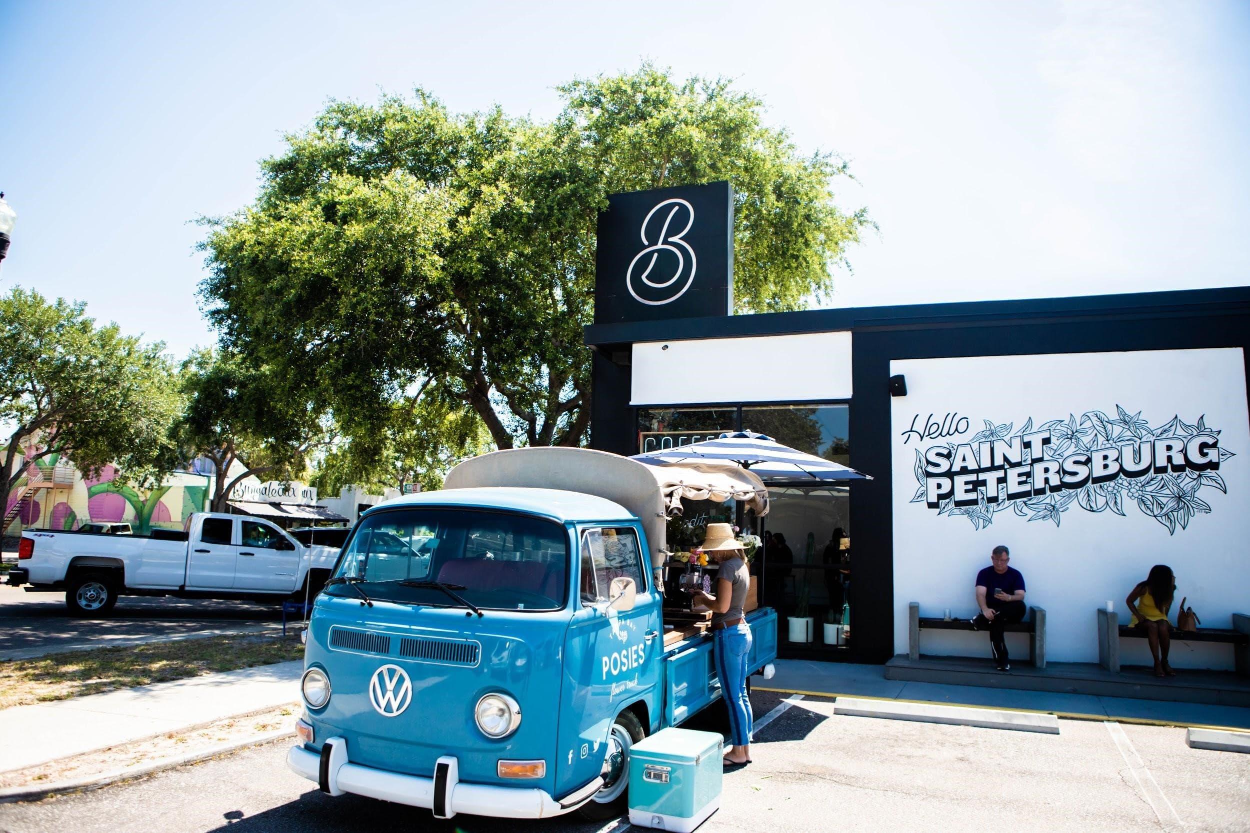 bandit coffee shop, st. petersburg, florida